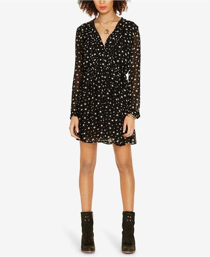 Denim   Supply Ralph Lauren Star-Print Sheer Dress   My Style ... 8d4dfd3cba65