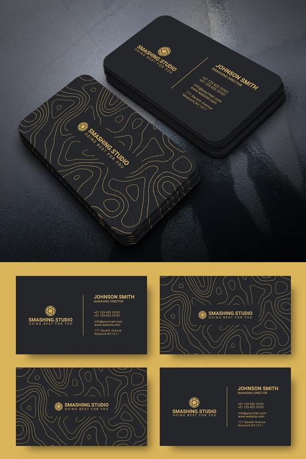 Stylish Business Cards Design Graphic Design Junction Business Card Design Fashion Graphic Design Business Card Business Card Design Black