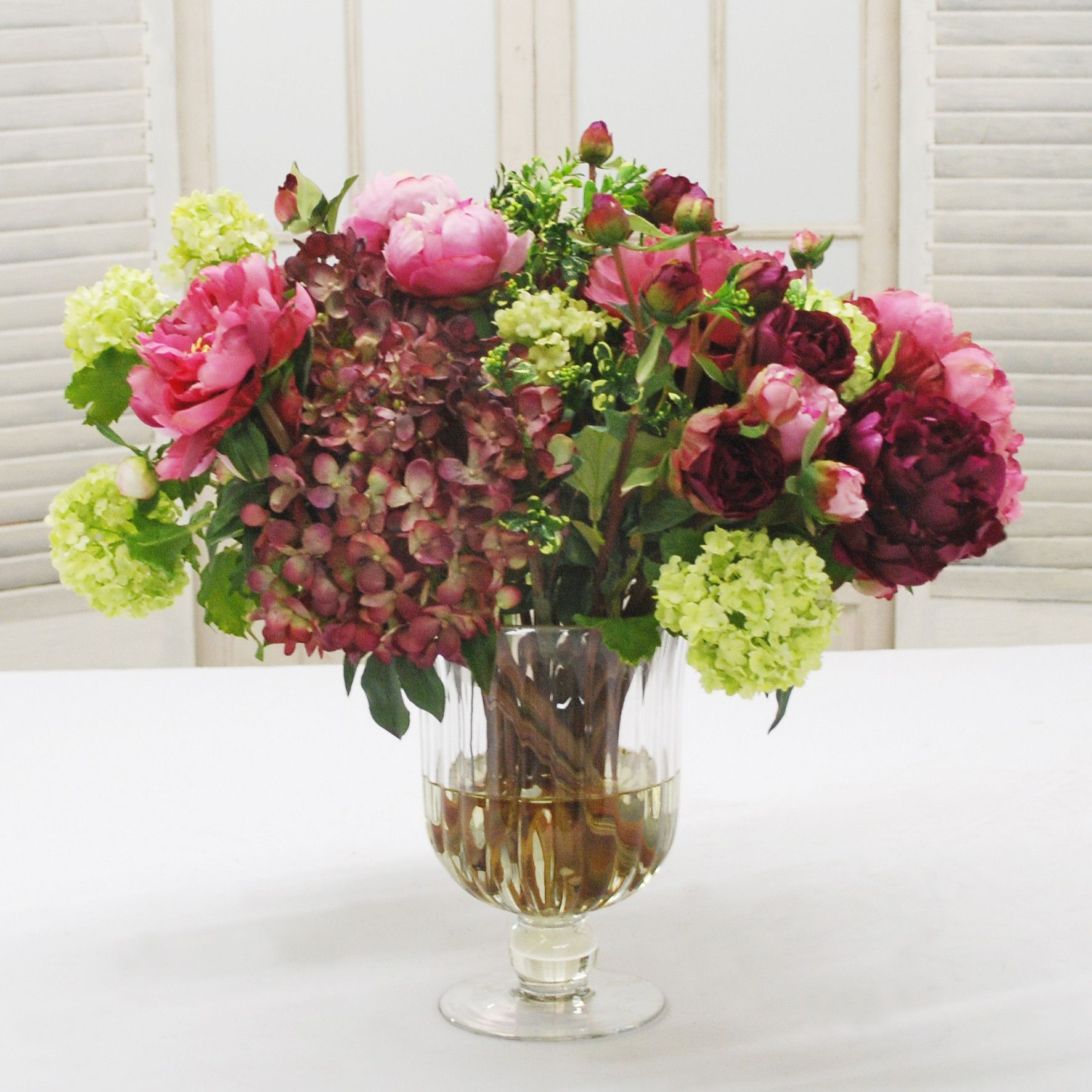 Mix floral in wine glass vase whd022 ohgr flowers mix floral in wine glass vase whd022 ohgr reviewsmspy
