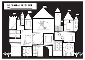Coloriage Chateau Gs.Maternelle Coloriage Le Tout Petit Roi Chateau Ps Ms Gs