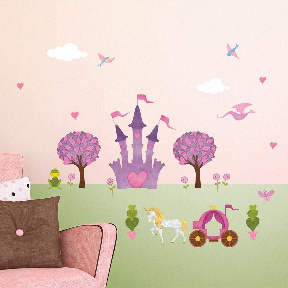 My Wonderful Walls Princess Peel And Stick Removable Wall Decals