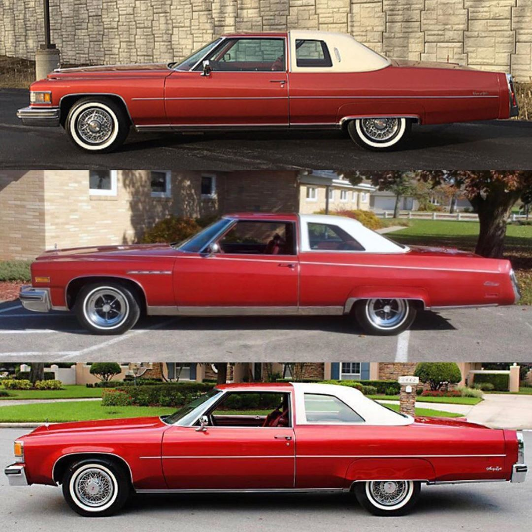 """@thecadillaclounge on Instagram: """"1976 GM luxury coupe showdown: which one for you, Cadillac, Buick or Oldsmobile? You can guess my answer ? #cadillac #cadillaclounge…"""""""