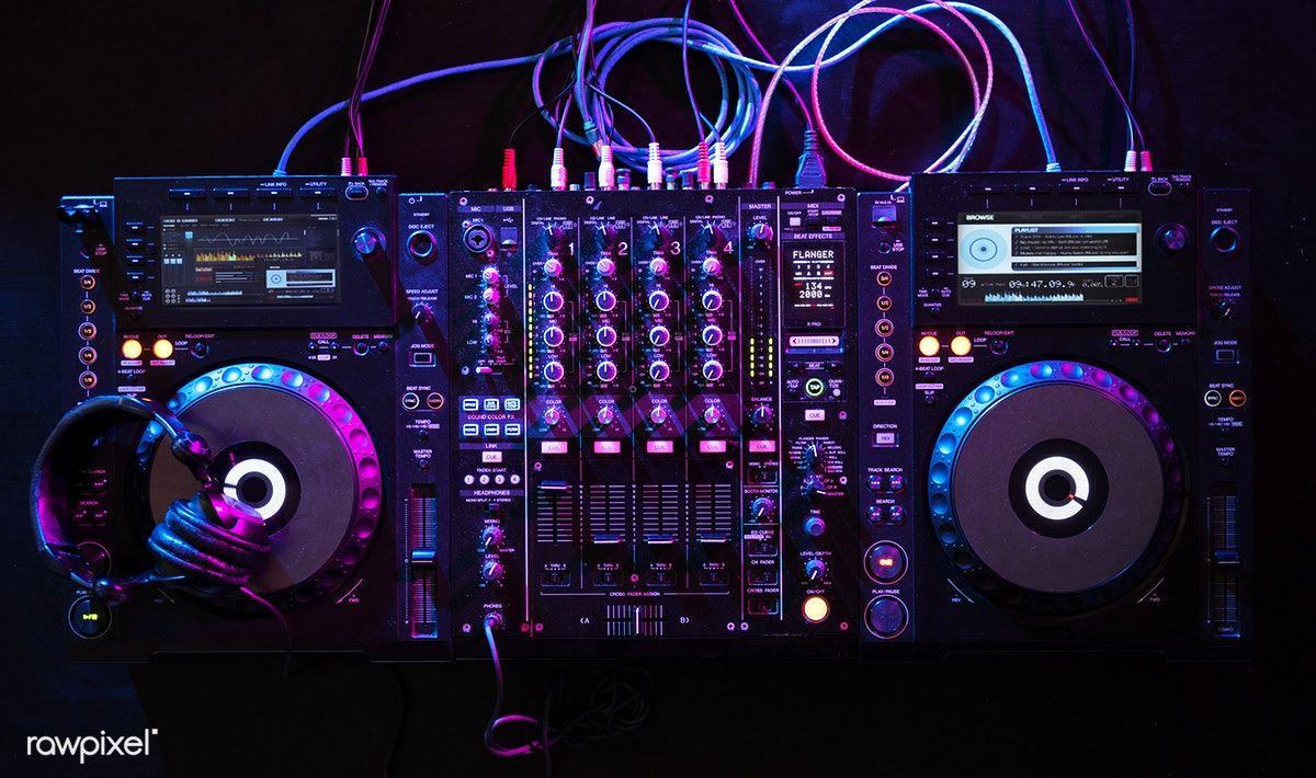 Download premium photo of Sound mixer equipment 51997