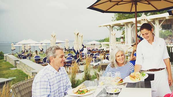 Day 2 On A Weekend Getaway In Newport Ri Dining The Lawn At Castle Hill Inn Here S Full Itinerary Http Www Newenglandinnsa