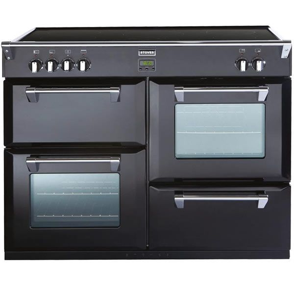 Stoves RICHMOND 1100EI BLACK 1100mm Electric Range Cooker Induction Hob Black http://www.MightGet.com/january-2017-13/stoves-richmond-1100ei-black.asp