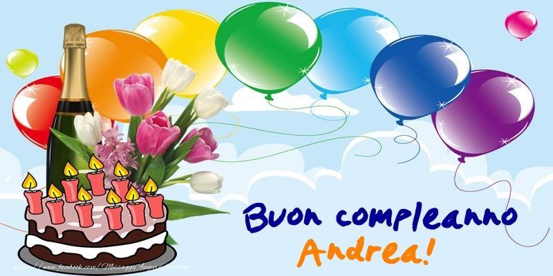 Cartoline Di Compleanno Buon Compleanno Andrea Compleanno