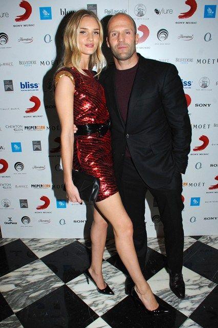 Rosie Huntington-Whiteley & Jason Statham