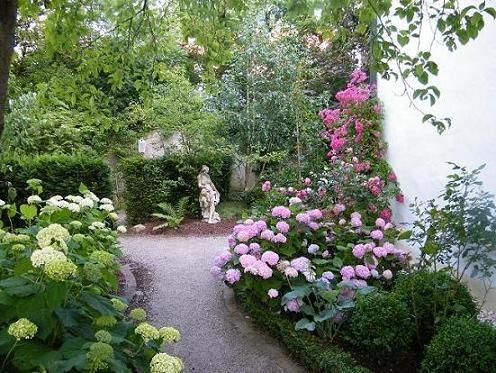 Der romantische Garten | Garten gestalten Ideen | Pinterest ...
