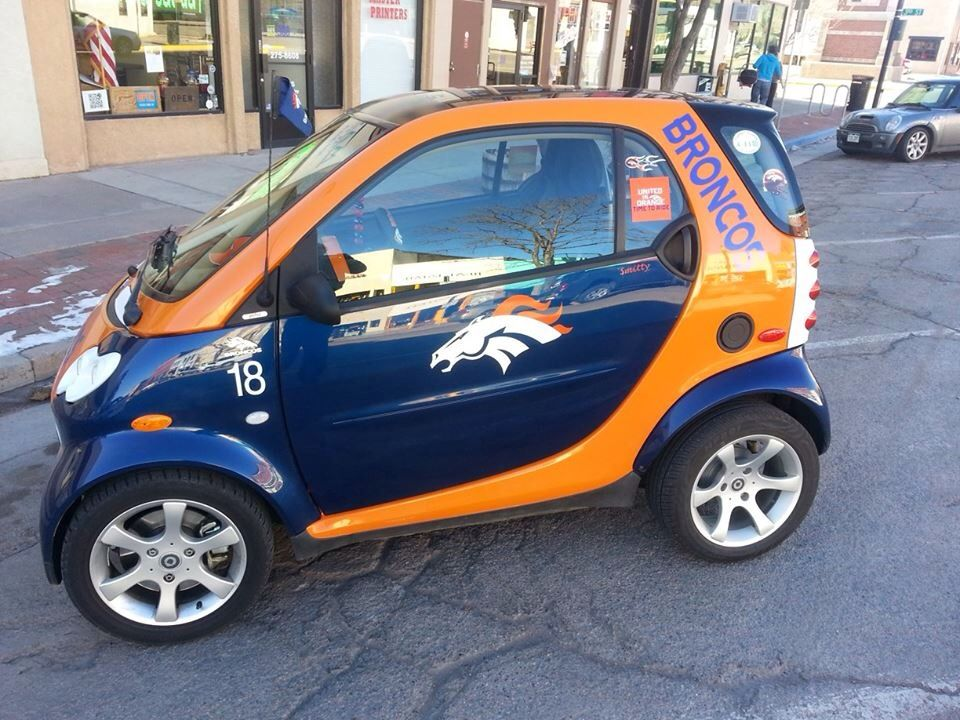 Go Car Denver: How About This Broncos Inspired Ride???