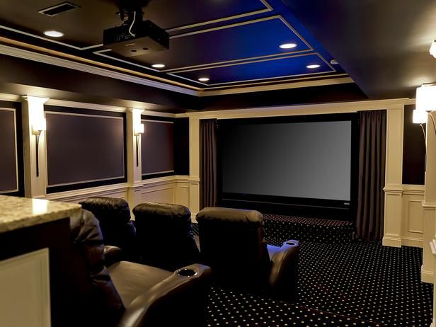 Amazing home theater designs interior remodeling hgtv - Interior design for home theatre ...