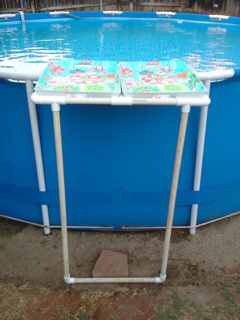 PVC Tray Holder For Intex Metal Frame Pool (I Should