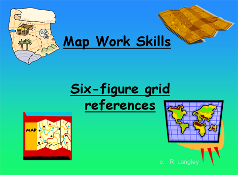 how to find six figure grid reference