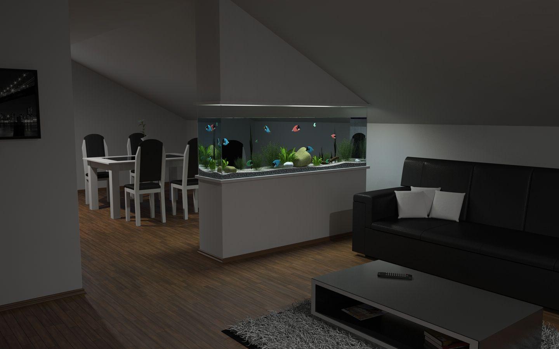 Fish Tank Living Room Decor Modern On Cool Gallery Part 18