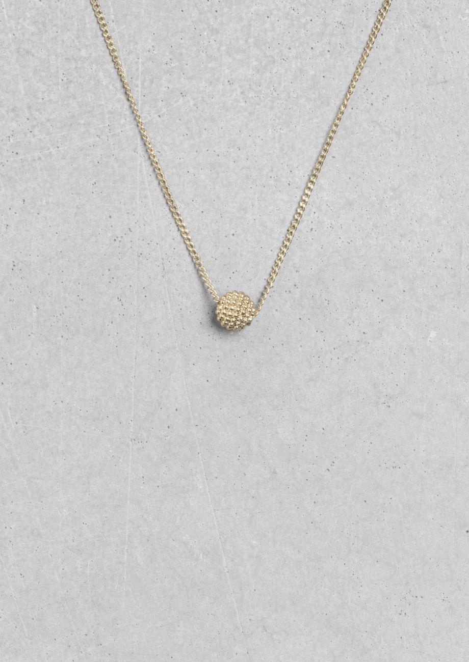 & Other Stories | Small Disco Ball Necklace