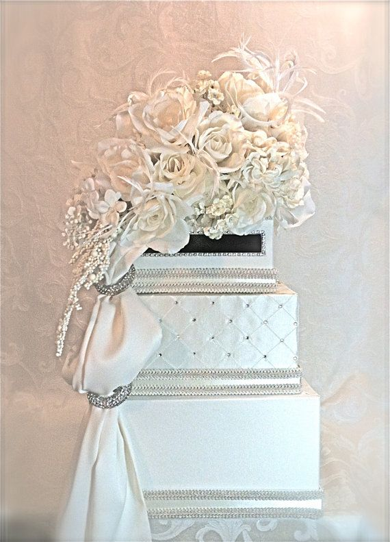Custom Wedding Card Box Wedding Envelope Box by WrapsodyandInk ...