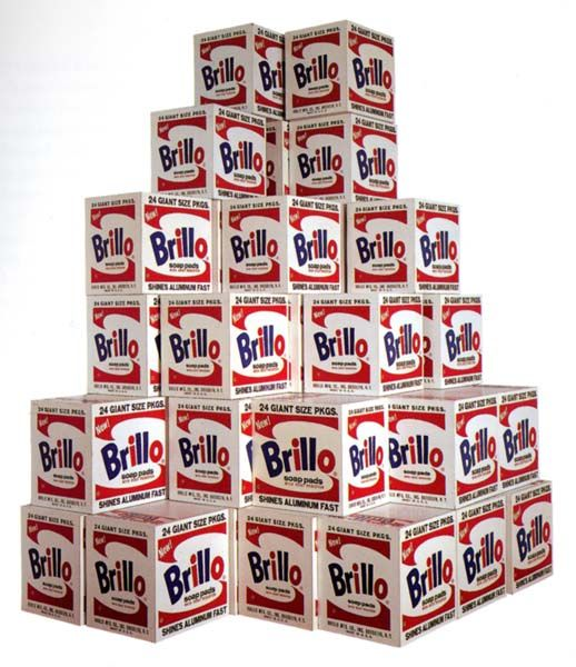 andy warhol brillo boxes 1963 reproduced 1969 andy warhol pinterest. Black Bedroom Furniture Sets. Home Design Ideas