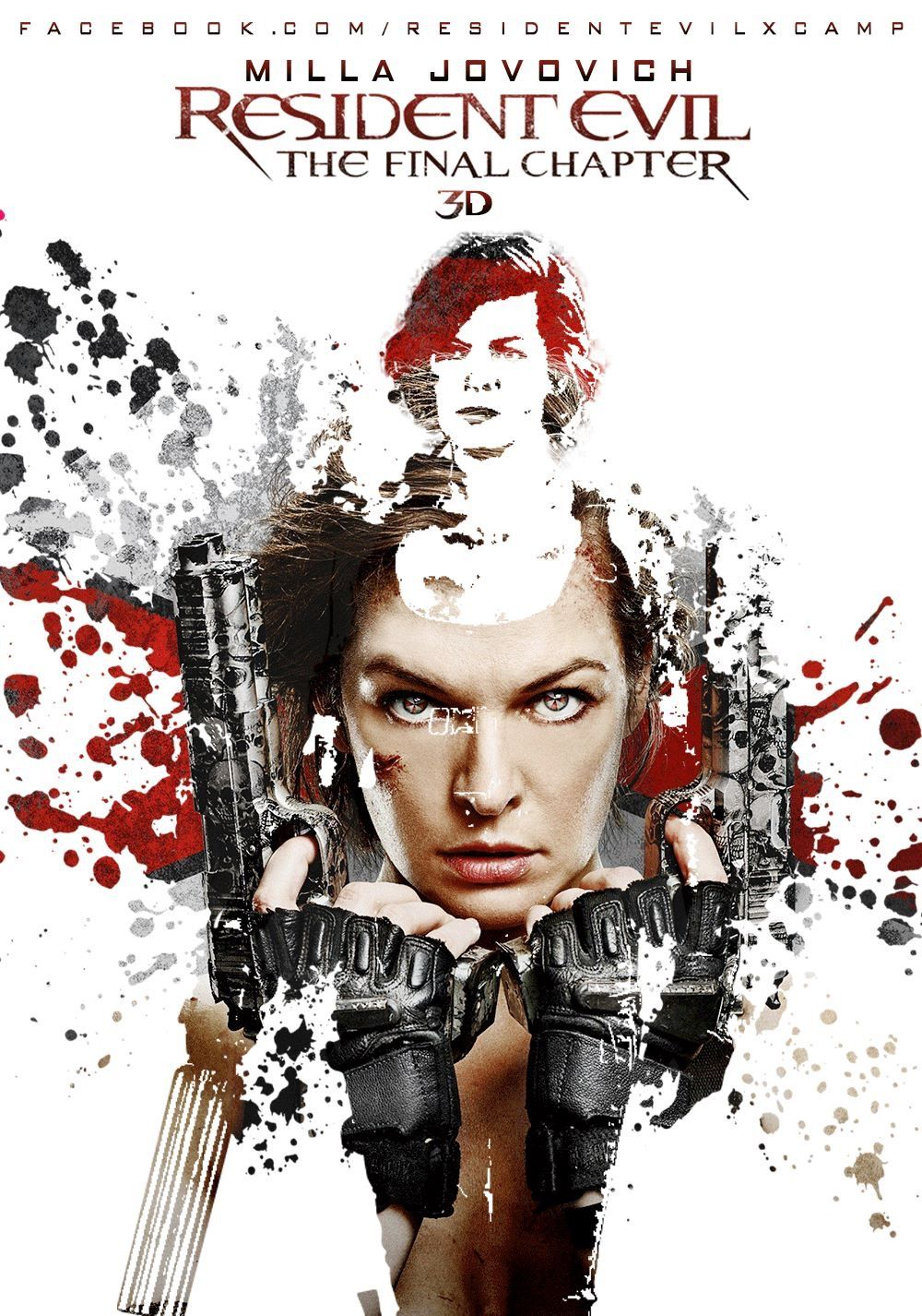 Fan Made Poster For Resident Evil The Final Chapter Alice