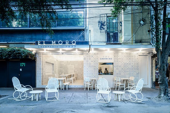 El Moro (Mexico City, Mexico), Identity   Restaurant & Bar Design Awards