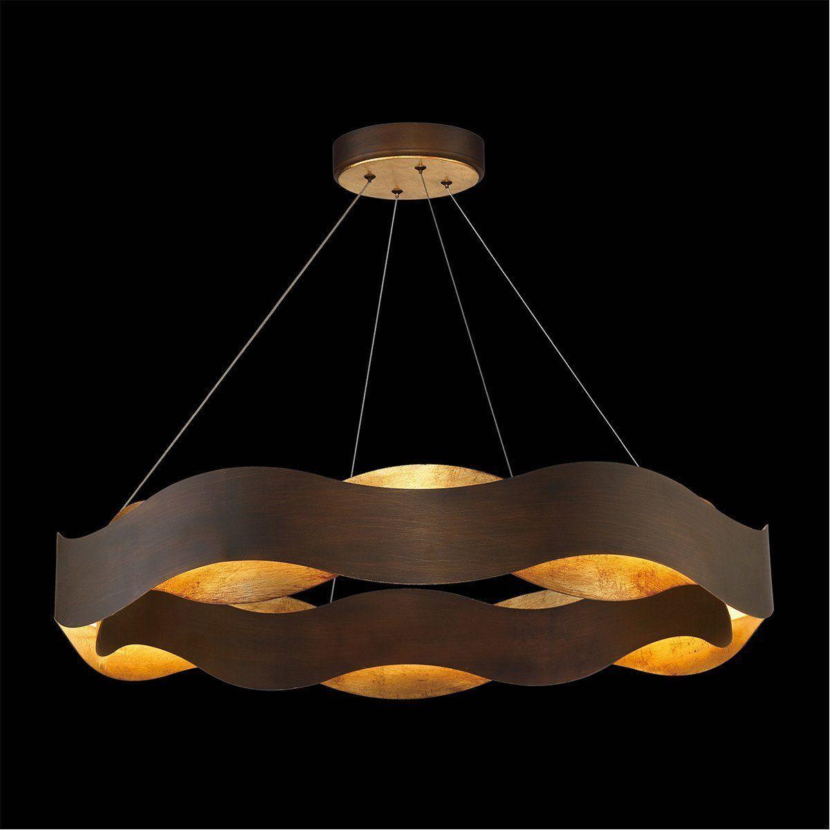Best The Vaughan Large Chandelier Has Beautiful Bronze Metal 400 x 300