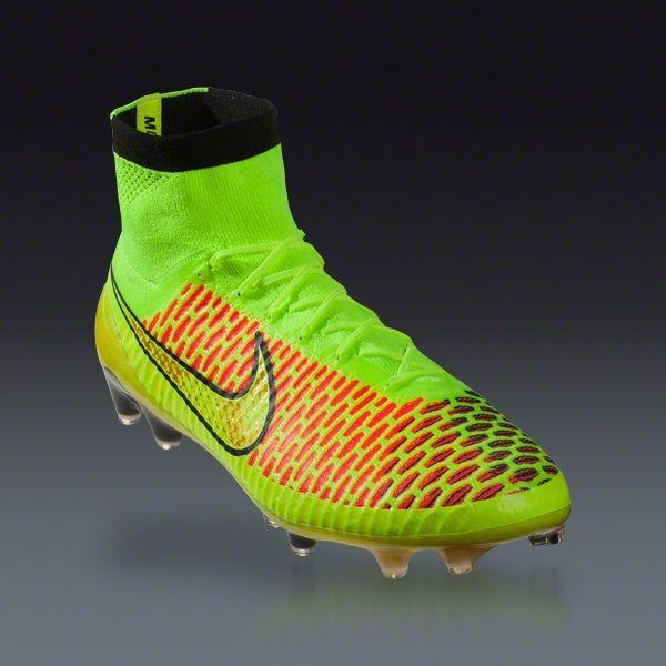 promo code ba269 45667 Nike Magista Obra FG - volt metallic gold coin black hyper punch Firm  Ground Soccer Shoes