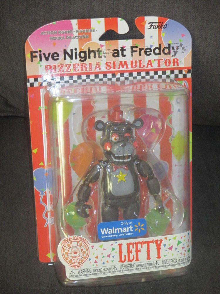 Five Nights at Freddys Pizzeria Simulator Lefty Figure