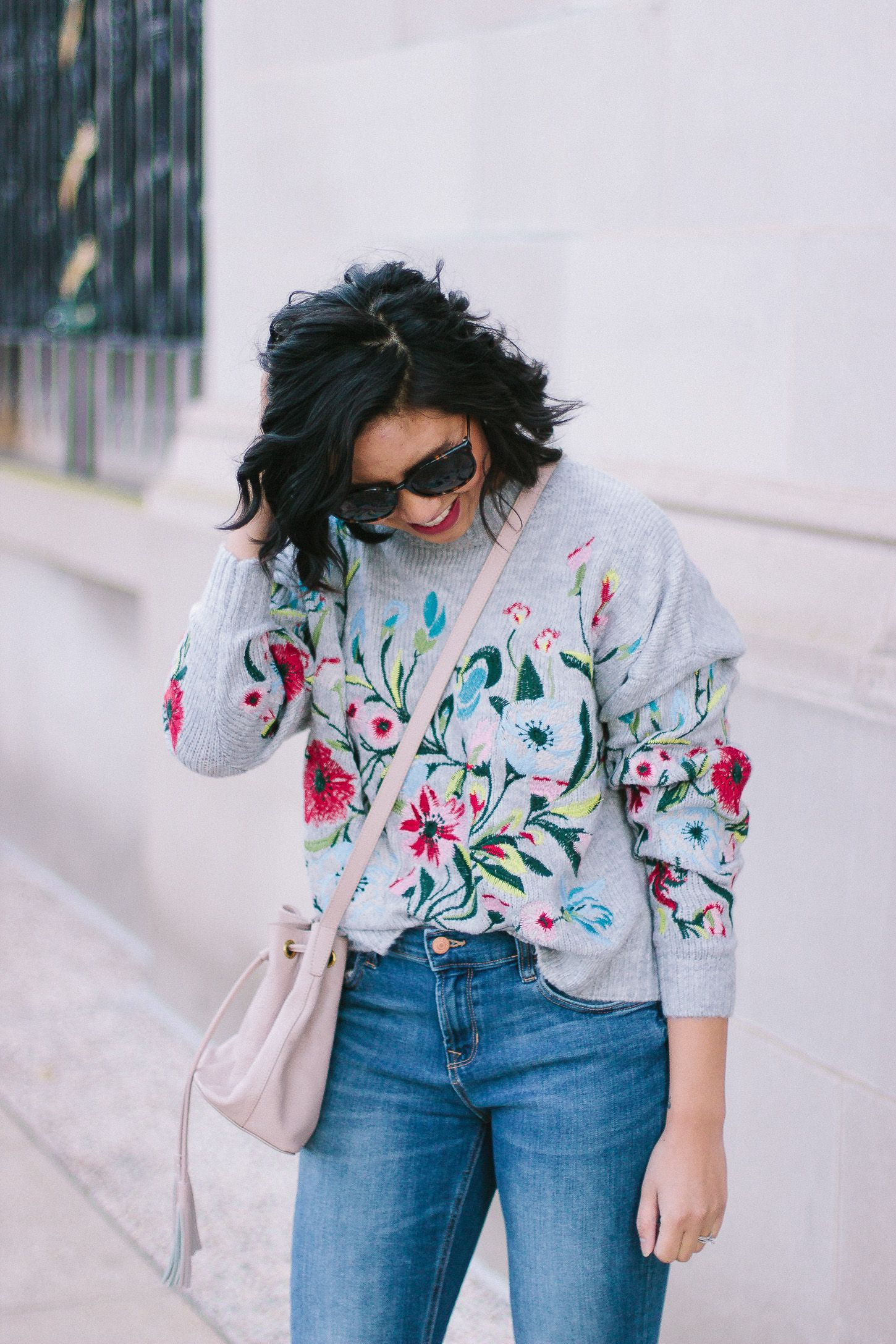 The Simple Things in Life that Makes Me Happy // How to Wear Florals in