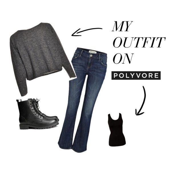 """Here's my basic holiday uniform: """"Casual basic"""" by jude-hutton on Polyvore"""