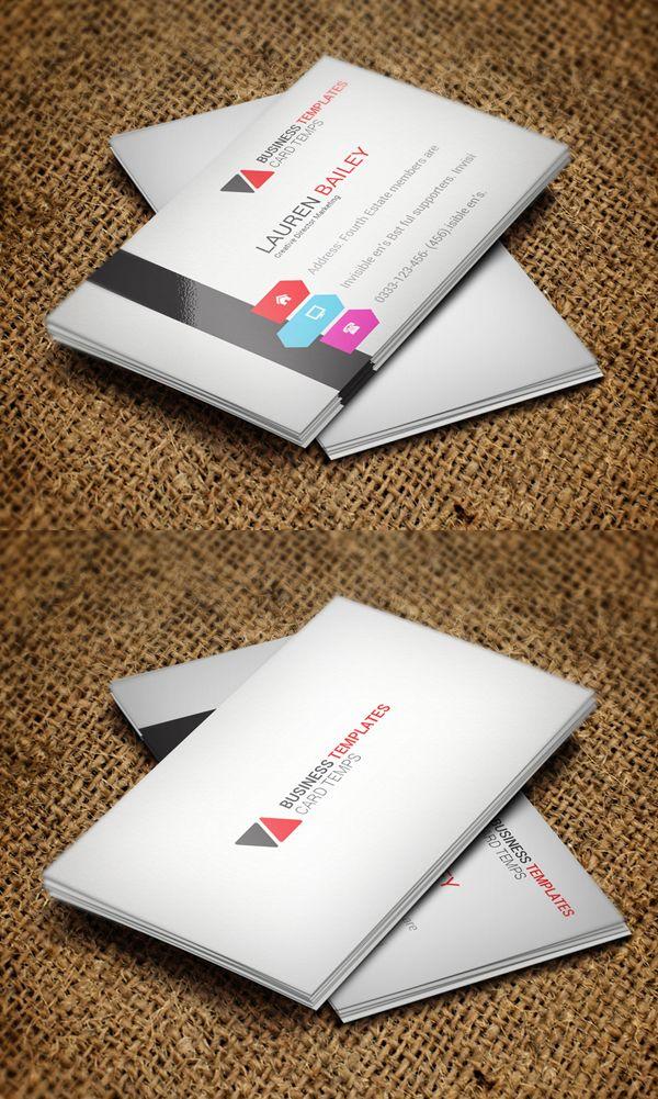 Modern Business Card Psd Templates Design Graphic Design Junction Business Card Psd Business Card Inspiration Calling Card Design