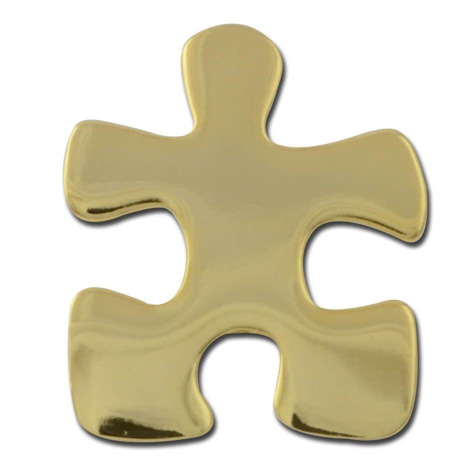 autism awareness puzzle piece lapel pin
