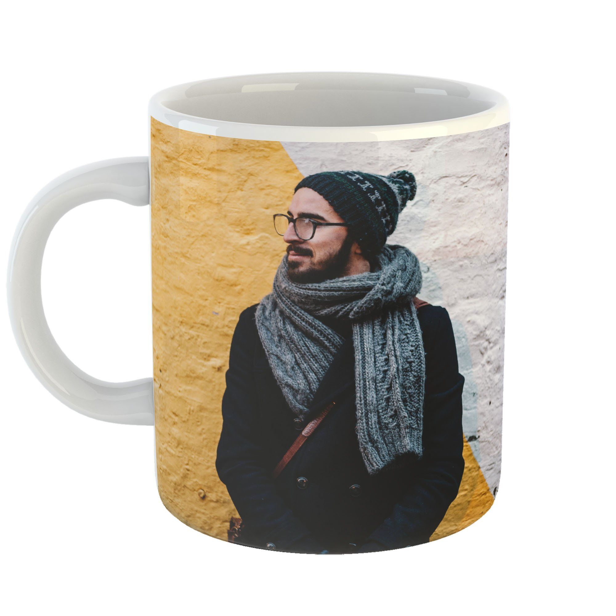 Westlake Art Coffee Cup Mug Scarf Headgear Modern Picture