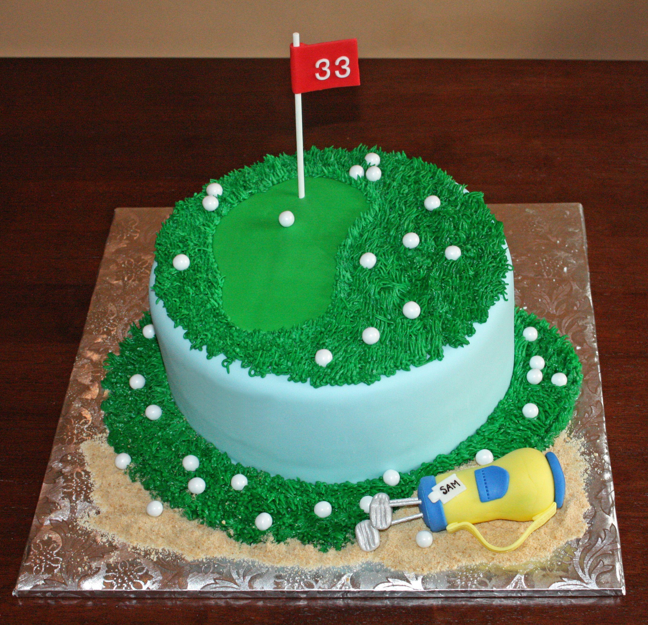 80 Golf Cake