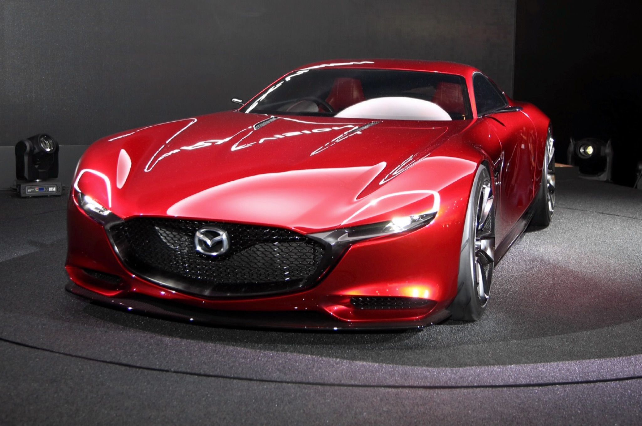 Merveilleux Itu0027s Unanimous Among Our Four Intrepid Correspondents Reporting From The  2015 Tokyo Motor Show: The Wankel Rotary Powered Mazda RX Vision Is The Hit  Of The ...