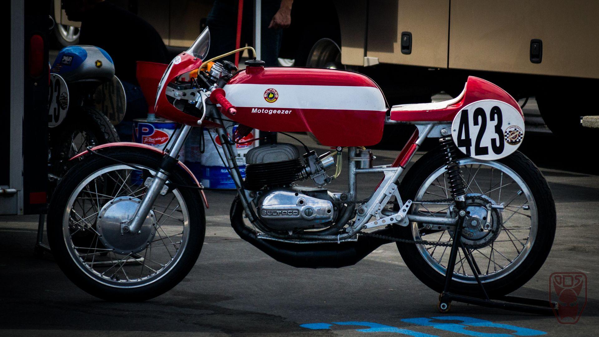 Vintage Racing Motorcycles Bultaco 250 Formula Vintage Race Car