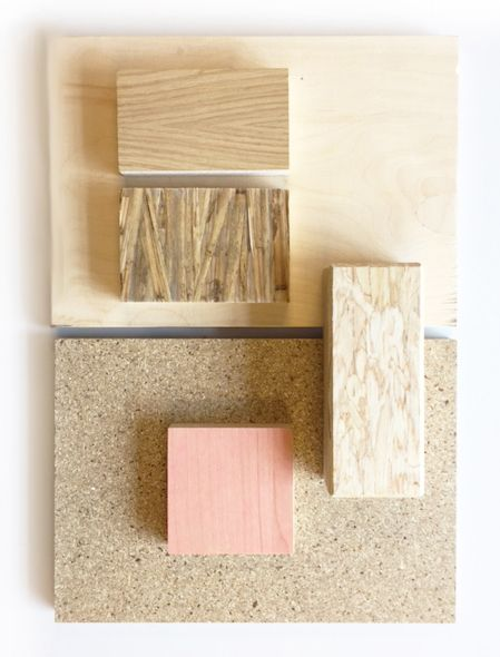 Moodboard Healthy Sustainable Materials Interior Design Material Board Bamboo Wood Gr Pink