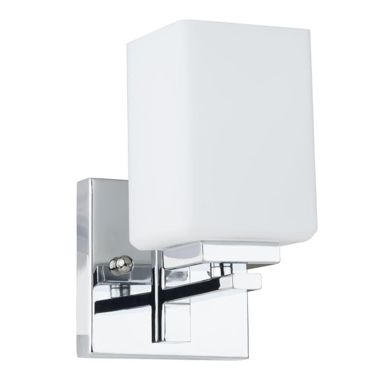 Miseno MLIT Elysa Bathroom Wall Sconce Polished Chrome Indoor - Bathroom wall sconces polished chrome