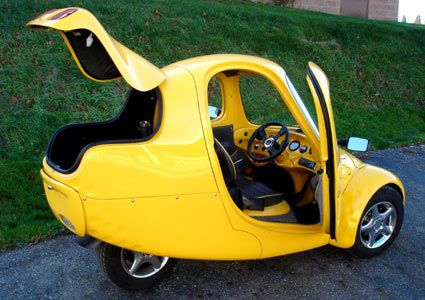 Myers Motors Nmg No More Gas One Seat Electric Car A Tricycle