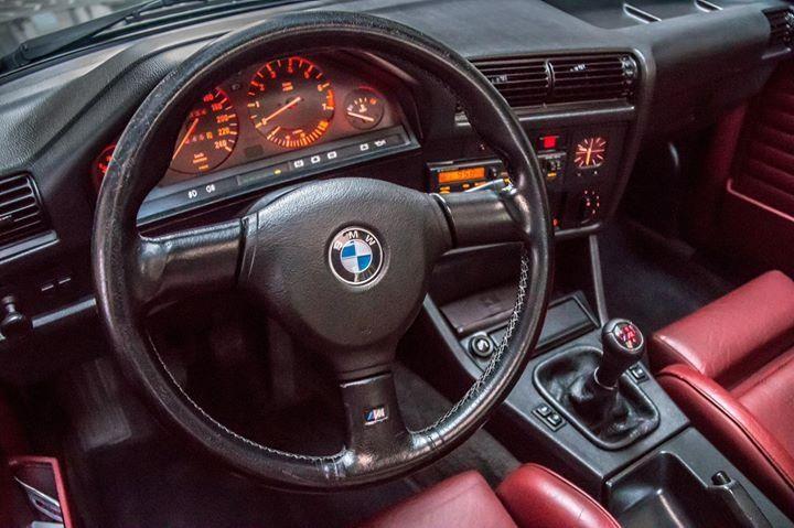 BMW E30 M Sport Interior