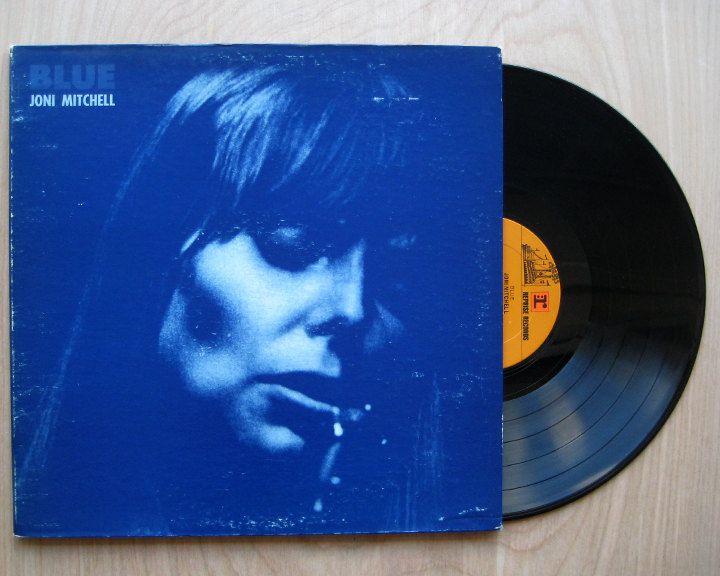 Sale Joni Mitchell Quot Blue Quot Vinyl Record Lp Vinyl Records Vinyl Blue Vinyl