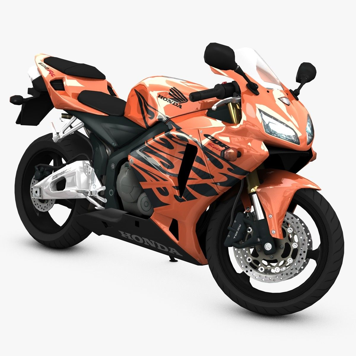 Sport Super Bike 3D Model 3D Model Honda cbr, Super