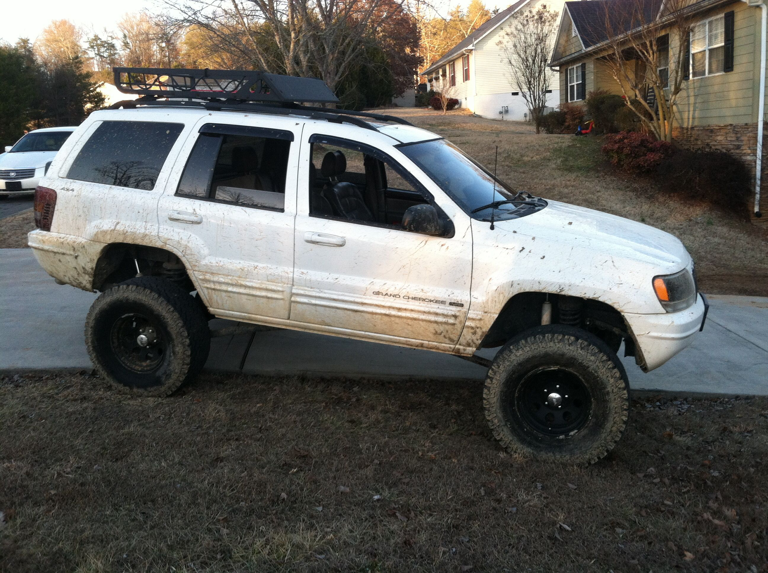 My jeep grand cherokee wj