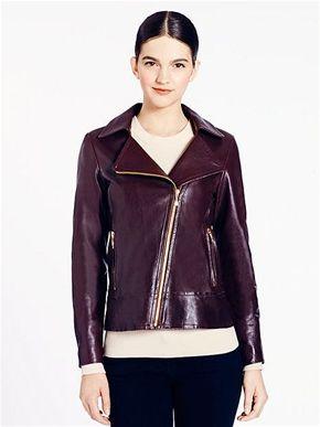 1bf147c44 katespade new york Linnea Jacket | Leather jackets | Jackets ...