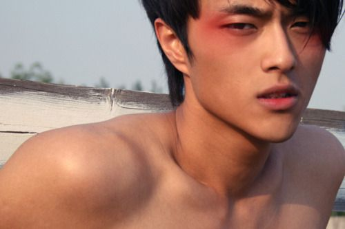 Psychotic Scene Asian Male Model Male Makeup Male Models Tumblr