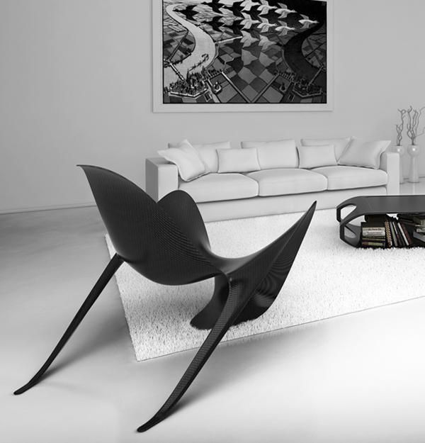 Futuristic Modern Chairs From Italy Contemporary Furniture Design