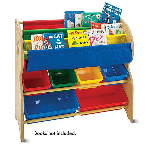 Tot Tutors Book Toy Organizer