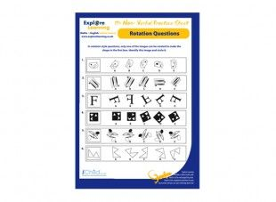 This 11 Plus English Practice Sheet Focuses On Non Verbal