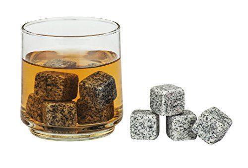 9 Piece Granite Beverage Chilling Stones Chill Rocks Whiskey Stones For Whiskey Wine Cocktails And Other Chilling Stones Whiskey Drinks Granite Whiskey Stones