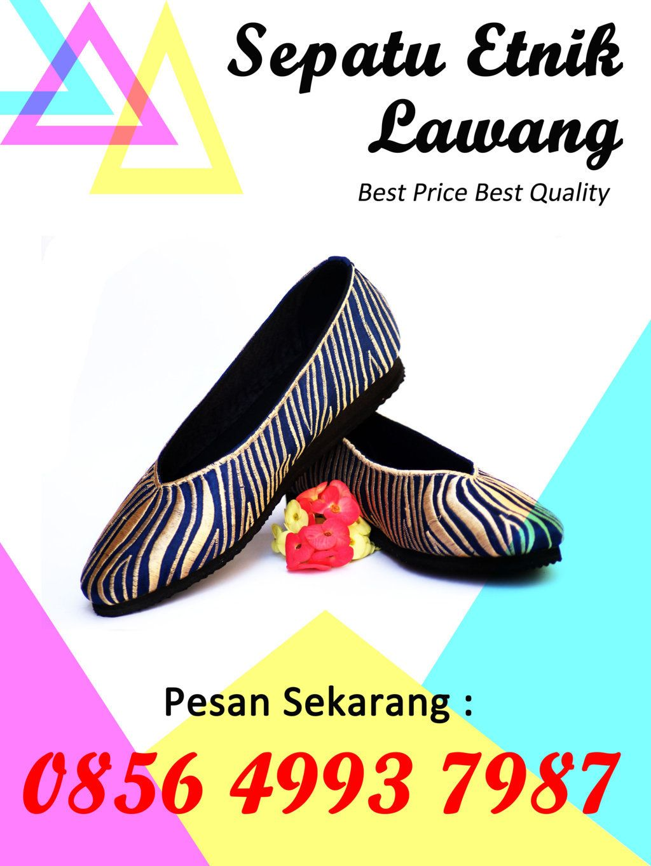 Sepatu Bordir Lawang Distributor Sepatu Flat Bordir Lawang