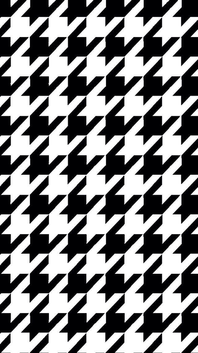 Houndstooth Iphone Wallpaper I P H O N E W A L L P A P E R