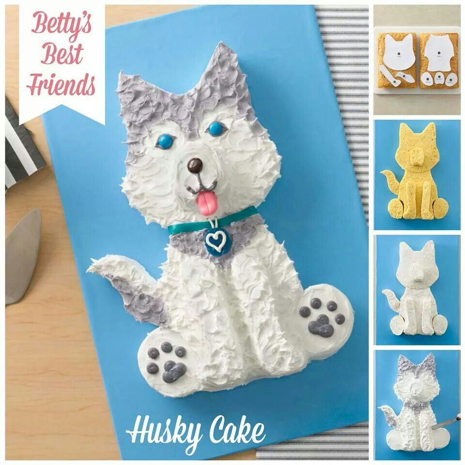 Husky cake   Food:)   Pinterest   Cake, Eat cake and Cake cookies