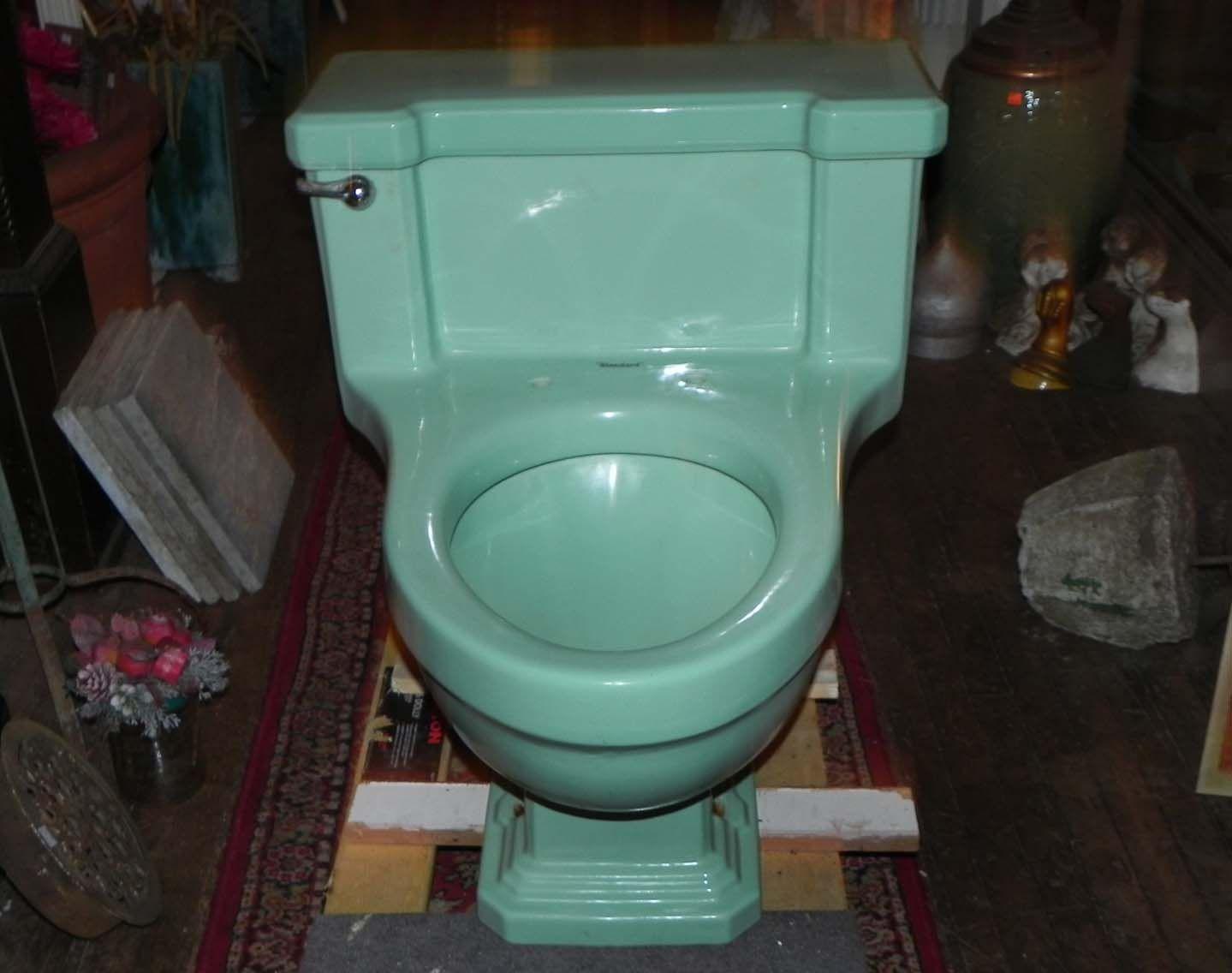 Standard\'s 1920\'s era Ming Green Lowboy   Antique & Vintage Plumbing ...